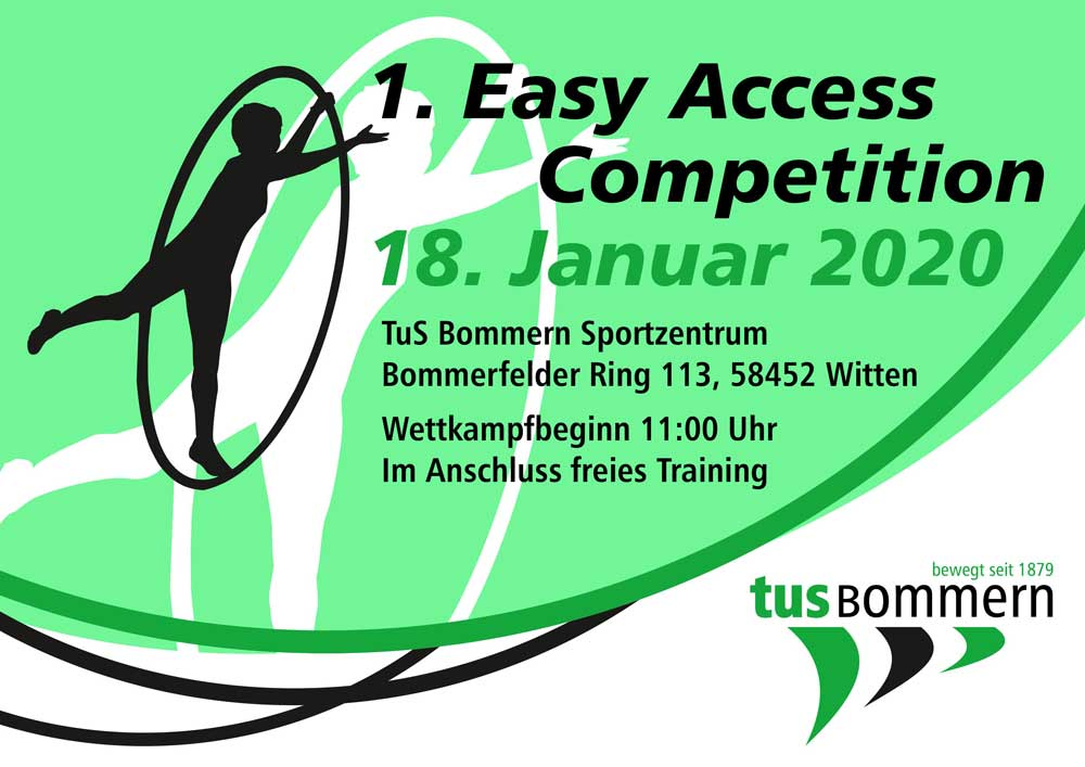 1. Easy Access Competition