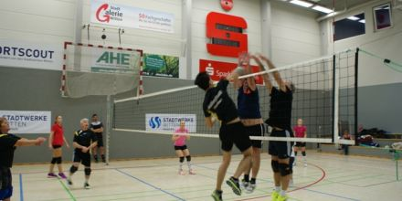 Volleyballturnier im November 2017